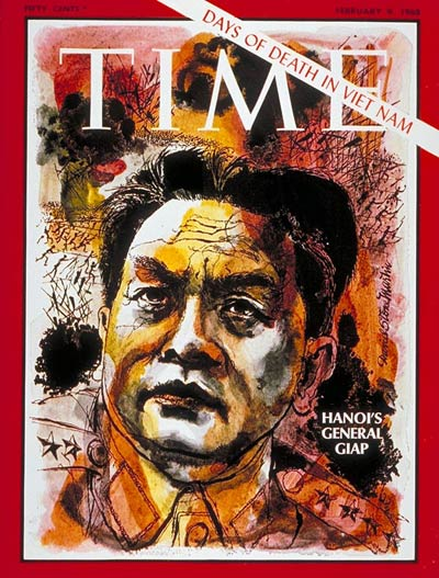 TIME Magazine Cover: General Vo Nguyen Giap -- Feb. 9, 1968