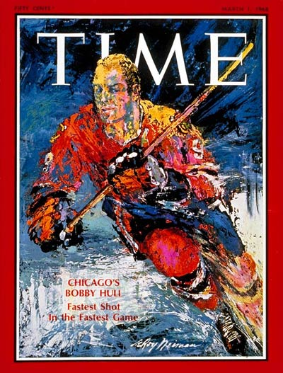 TIME Magazine Cover: Bobby Hull -- Mar. 1, 1968