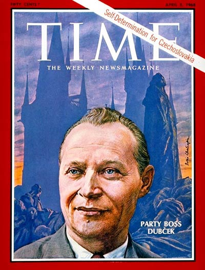 TIME Magazine Cover: Alexander Dubcek -- Apr. 5, 1968