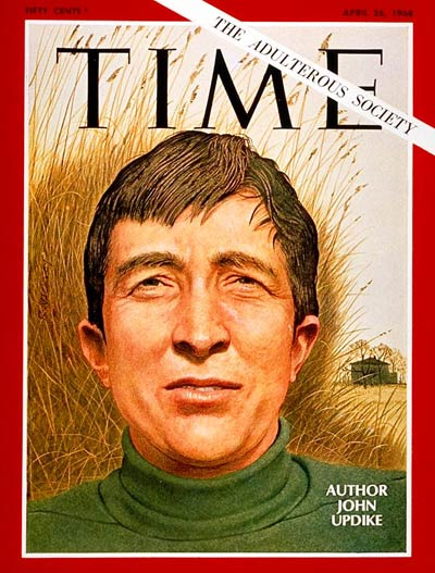 TIME Magazine Cover: John Updike -- Apr. 26, 1968