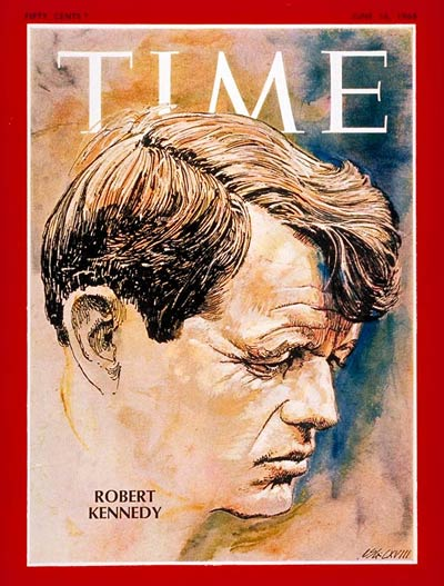 TIME Magazine Cover: Robert F. Kennedy -- June 14, 1968