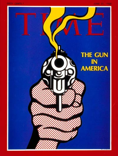 TIME Magazine Cover: The Gun in America -- June 21, 1968