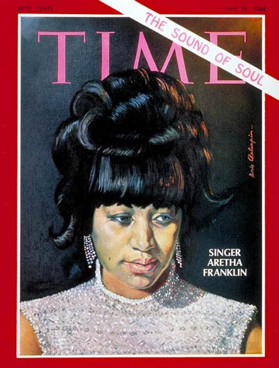 TIME Magazine Cover: Aretha Franklin -- June 28, 1968