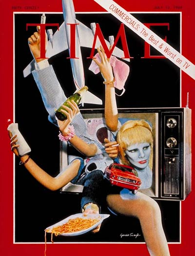 TIME Magazine Cover: TV Commercials -- July 12, 1968