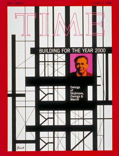 TIME Magazine Cover: Alexander Owings -- Aug. 2, 1968