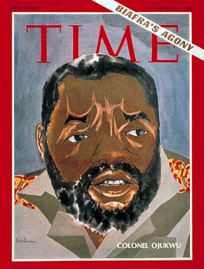 TIME Magazine Cover: Lt. Col. Ojukwu -- Aug. 23, 1968