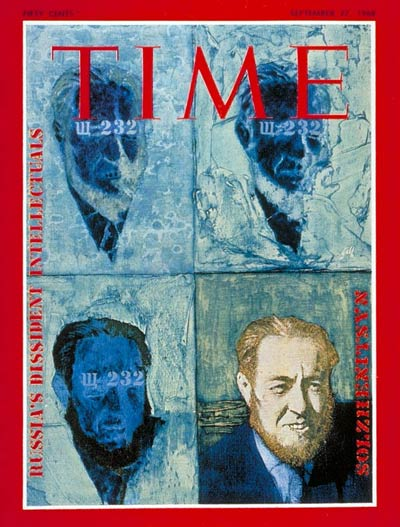 TIME Magazine Cover: Alexander Solzhenitsyn -- Sep. 27, 1968