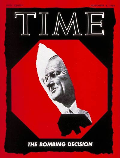 TIME Magazine Cover: Lyndon B. Johnson -- Nov. 8, 1968