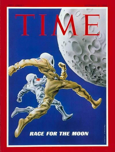 TIME Magazine Cover: Race for the Moon -- Dec. 6, 1968