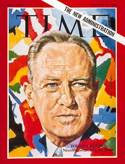TIME Magazine Cover: William P. Rogers -- Dec. 20, 1968