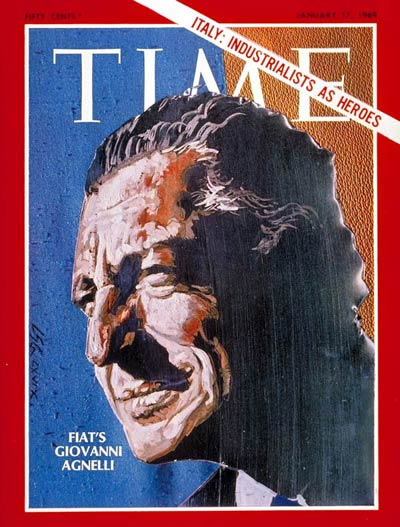TIME Magazine Cover: Giovanni Agnelli -- Jan. 17, 1969