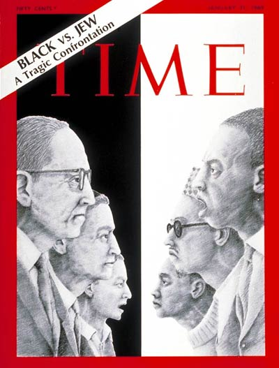 TIME Magazine Cover: Black v. Jew -- Jan. 31, 1969