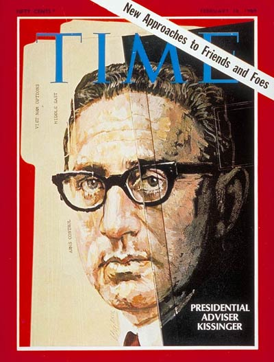 TIME Magazine Cover: Henry Kissinger -- Feb. 14, 1969