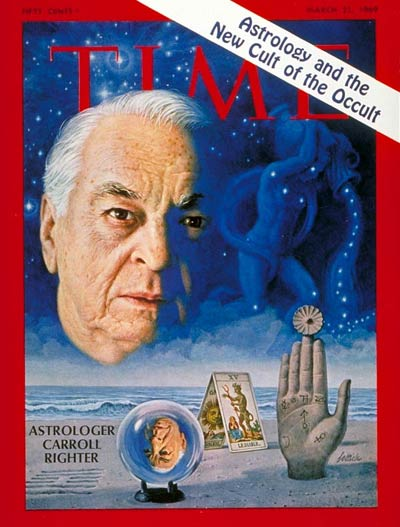 TIME Magazine Cover: Carrol Righter -- Mar. 21, 1969
