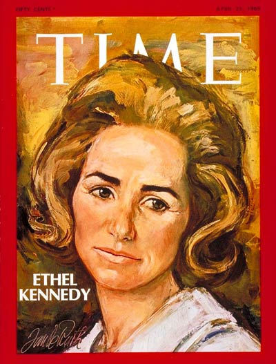 TIME Magazine Cover: Ethel Kennedy -- Apr. 25, 1969