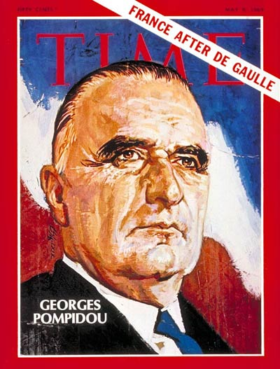TIME Magazine Cover: Georges Pompidou -- May 9, 1969