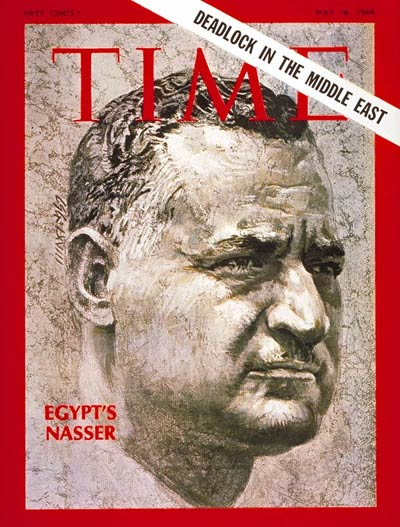 TIME Magazine Cover: Gamal Abdel Nasser -- May 16, 1969