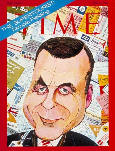 TIME Magazine Cover: Temple Fielding -- June 6, 1969