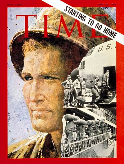 TIME Magazine Cover: Troop Withdrawal -- June 20, 1969