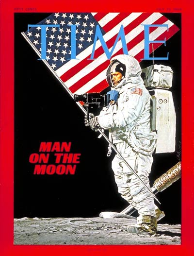 TIME Magazine Cover: Neil Armstrong -- July 25, 1969