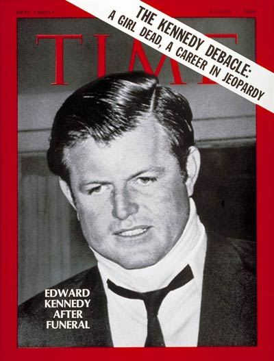 TIME Magazine Cover: Senator Edward Kennedy -- Aug. 1, 1969