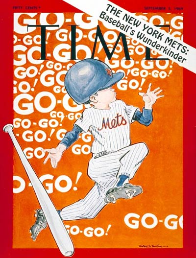 TIME Magazine Cover: The New York Mets -- Sep. 5, 1969