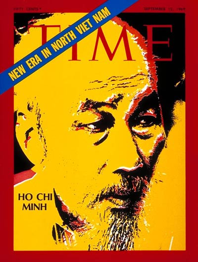 TIME Magazine Cover: Ho Chi Minh -- Sep. 12, 1969