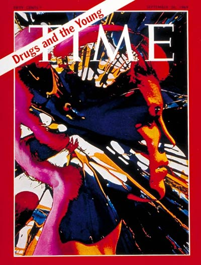 TIME Magazine Cover: Drugs and the Young -- Sep. 26, 1969