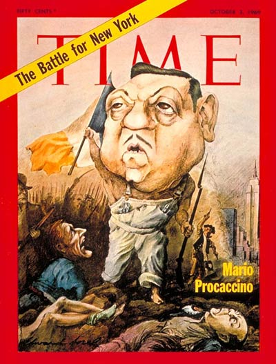 TIME Magazine Cover: Mario Procaccino -- Oct. 3, 1969