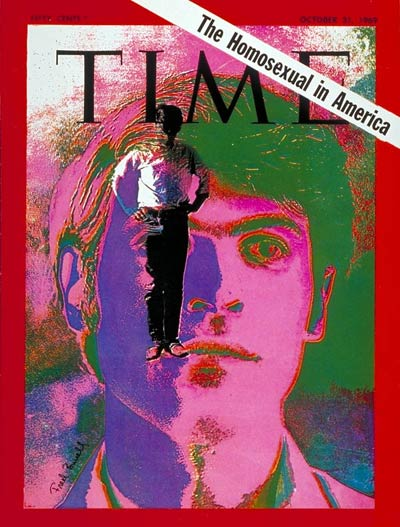TIME Magazine Cover: The Homosexual -- Oct. 31, 1969