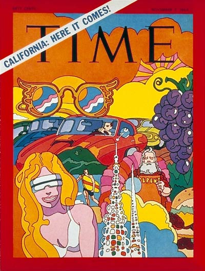 Time Magazine November 7 1969 California Here It Comes
