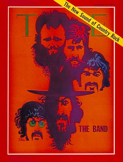 TIME Magazine Cover: The Band -- Jan. 12, 1970
