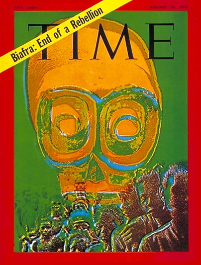 TIME Magazine Cover: Biafra: End  a Rebellion -- Jan. 26, 1970