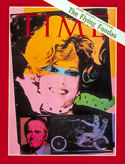 TIME Magazine Cover: Jane, Henry & Peter Fonda -- Feb. 16, 1970