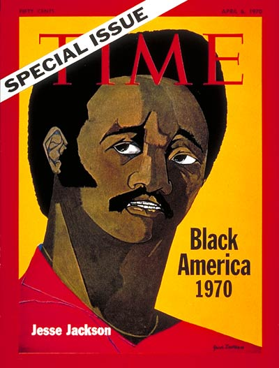 TIME Magazine Cover: Jesse Jackson -- Apr. 6, 1970