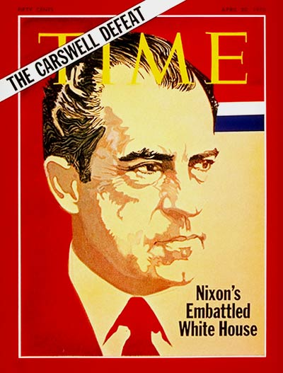 TIME Magazine Cover: Richard Nixon -- Apr. 20, 1970