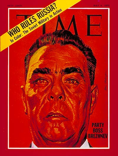 TIME Magazine Cover: Leonid Brezhnev -- May 4, 1970