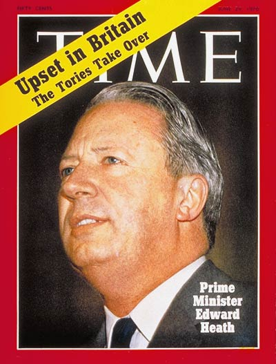 TIME Magazine Cover: Edward Heath -- June 29, 1970