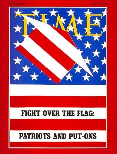 Fight over the Flag: Patriots and Put-Ons.