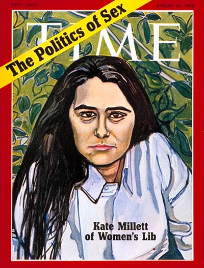 TIME Magazine Cover: Kate Millett -- Aug. 31, 1970
