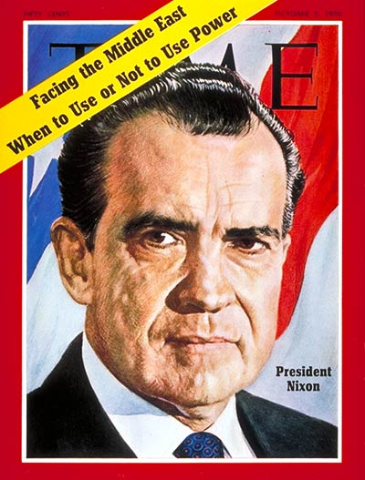 TIME Magazine Cover: Richard Nixon -- Oct. 5, 1970