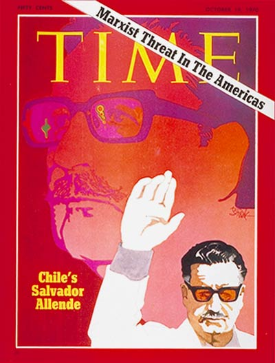 TIME Magazine Cover: Salvador Allende -- Oct. 19, 1970