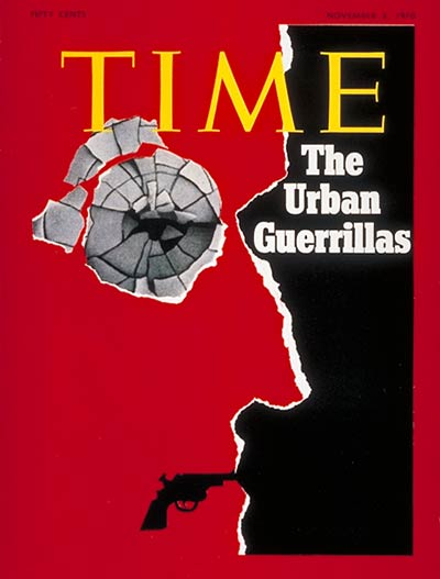TIME Magazine Cover: The Urban Guerillas -- Nov. 2, 1970