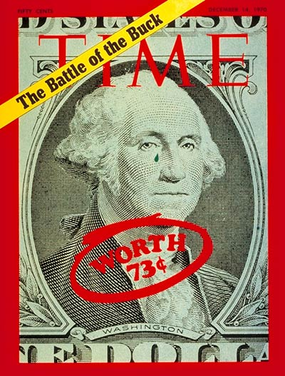 TIME Magazine Cover: U.S. Inflation -- Dec. 14, 1970