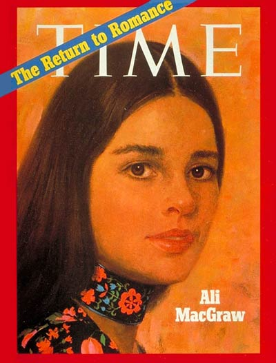 TIME Magazine Cover: Ali MacGraw -- Jan. 11, 1971