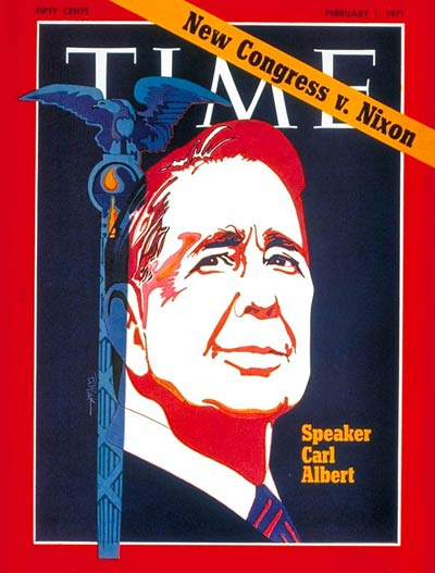 TIME Magazine Cover: Carl Albert -- Feb. 1, 1971