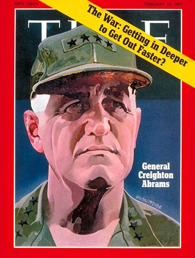 TIME Magazine Cover: General Creighton Abrams -- Feb. 15, 1971