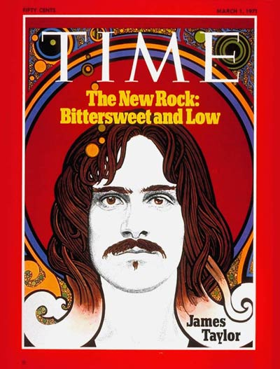 TIME Magazine Cover: James Taylor -- Mar. 1, 1971