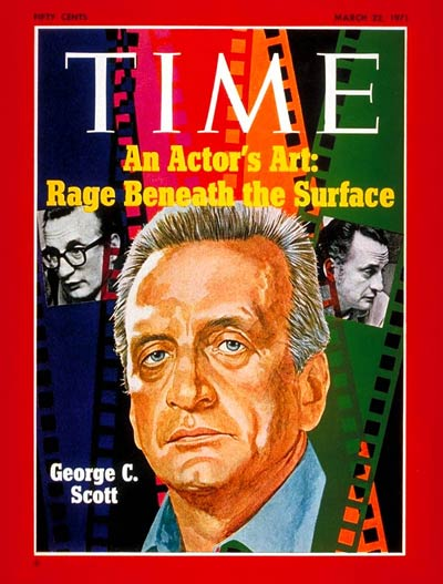 TIME Magazine Cover: George C. Scott -- Mar. 22, 1971
