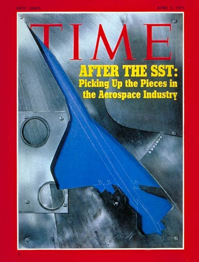 TIME Magazine Cover: Aerospace Industry -- Apr. 5, 1971